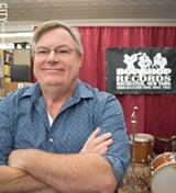 PHOTO BY JACOB WALSH - Bop Shop Records owner Tom Kohn has been presenting jazz, experimental, and world music concerts in Rochester for 30 years.