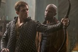 "PHOTO COURTESY LIONSGATE - Taron Egerton and Jamie Foxx in ""Robin Hood."""
