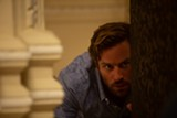 "PHOTO COURTESY BLEECKER STREET - Armie Hammer in ""Hotel - Mumbai."""