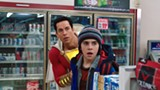 "PHOTO COURTESY WARNER BROS - Zachary Levi and Jack Dylan Grazer in ""Shazam!"""