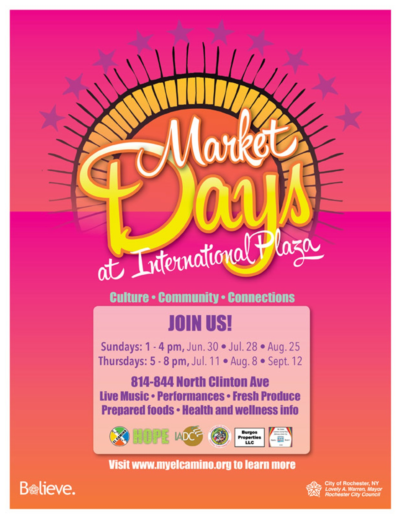 SPECIAL EVENT | Market Days at International Plaza | Choice