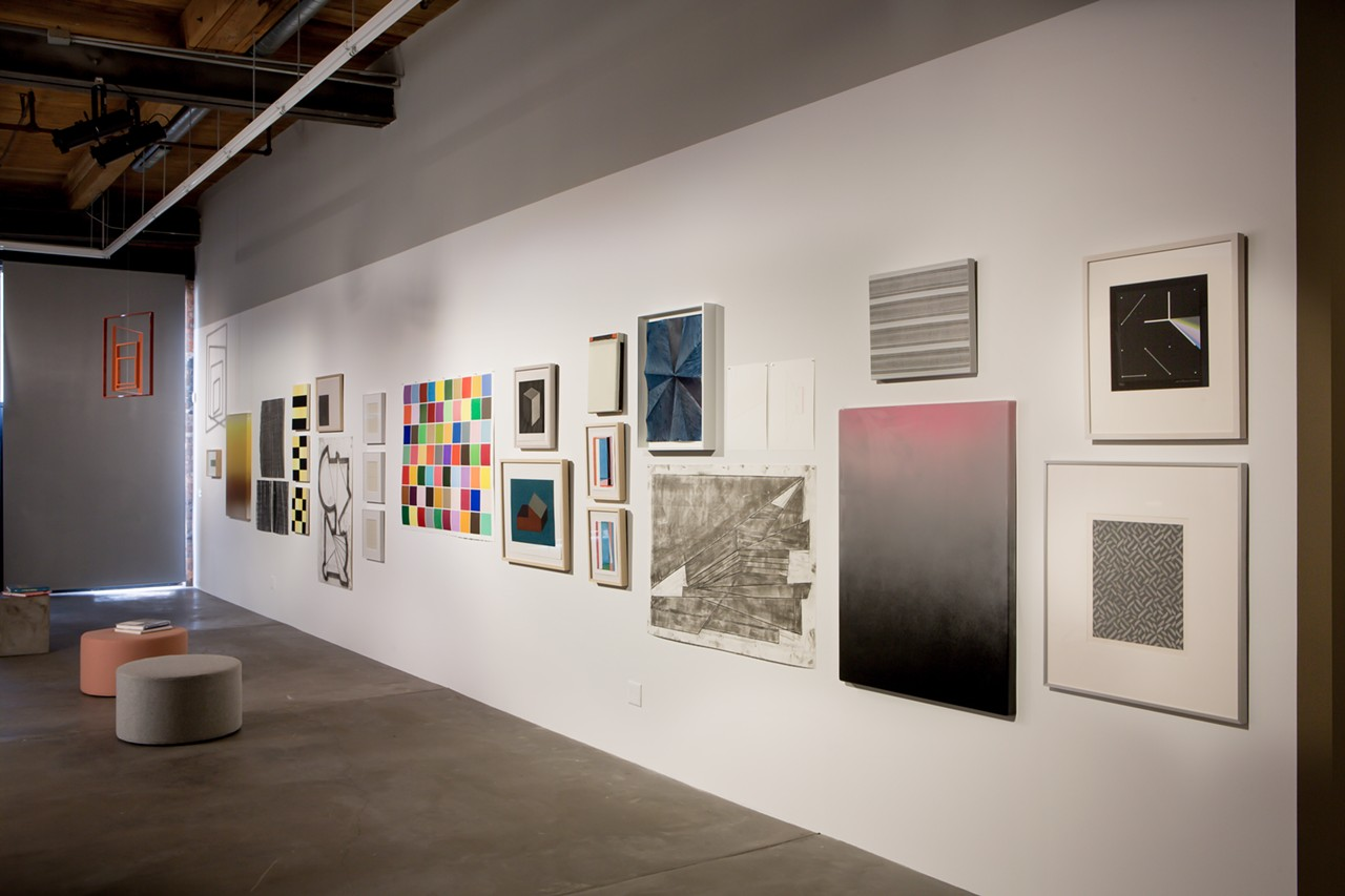 39 minimal mostly 39 exhibit highlights minimalism and its for Minimal art installation