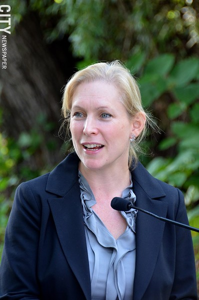 U.S. Senator Kirsten Gillibrand. - FILE PHOTO