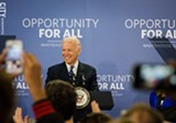 PHOTO BY MARK CHAMBERLIN - Vice President Joe Biden at MCC.