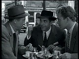 "Wanna see a tough gangster picture? A still from ""Rififi."""