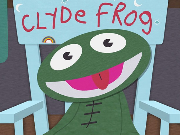 We all had Clyde Frog dolls growing up, right?