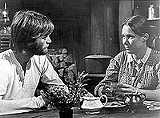 "UNIVERSAL PICTURES - Who's been plowing her fields?: Peter Fonda and Verna Bloom in ""The Hired Hand."""