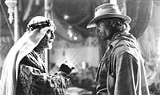BUENA VISTA PICTURES - Whos the real noble? Omar Sharif and Viggo Mortensen in Hidalgo.