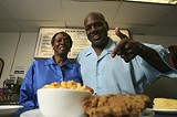 GARY VENTURA - Wilbert and Celestine Harley at their latest soul food spot, - Featuring Harley's on North Clinton.