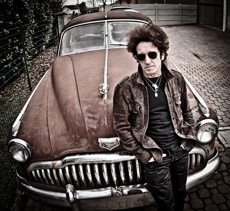 Willie Nile played Big Rib BBQ and Blues Fest last weekend. - PHOTO PROVIDED