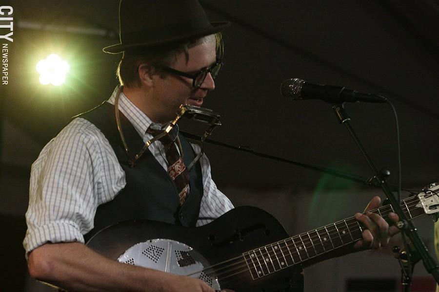 Woody Pines played Abilene. - PHOTO BY FRANK DE BLASE