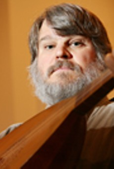 World-renowned lutenist performs Sunday at Nazareth College's Linehan Chapel.