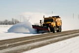 FILE PHOTO - Would using a private contractor for snowplowing save Penfield money?
