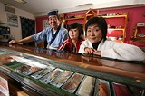 PHOTO BY GARY VENTURA - Yasu, Mai, and Yoshiko Kamiyama behind the counter at Edoya.