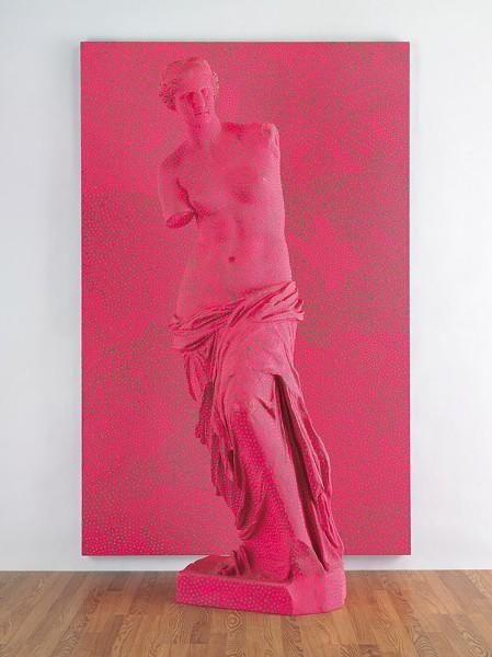 """Yayoi Kusama, """"Statue of Venus Obliterated by Infinity Nets"""""""