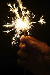 FILE PHOTO - You can breathe easy. Sparklers are now legal for short periods of time during the year.