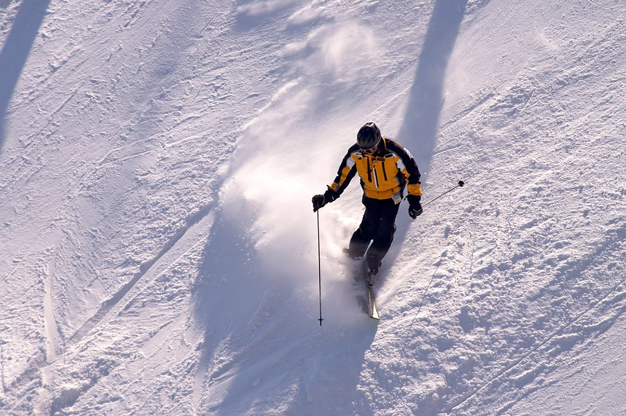 You can participate in or watch - downhill skiing and snowboarding - at Bristol Mountain. - FILE PHOTO