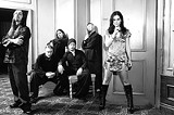 """""""You don't really - need to scream all the time to be powerful,"""" says Cristina Scabbia, - right, with her Italian metal band Lacuna Coil."""