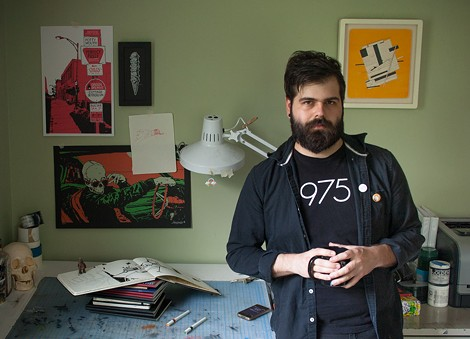 Young illustrator Justyn Iannucci has built an impressive portfolio of drawings for such clients as Complex Media, Playboy Magazine, and the Rochester Cocktail Revival. - PHOTO COURTESY EVYN MORGAN