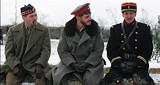 "J.C. LOTHER/SONY PICTURES CLASSICS - Yule love it: Alex Ferns, Daniel Brhl and Guillaume Canet (from - left) in the World War I Christmas flick ""Joyeux - Nol."""