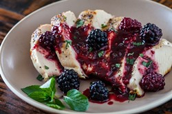 blackberry-cognac-sweet-and-sour-chicken-recipe-9247jpg