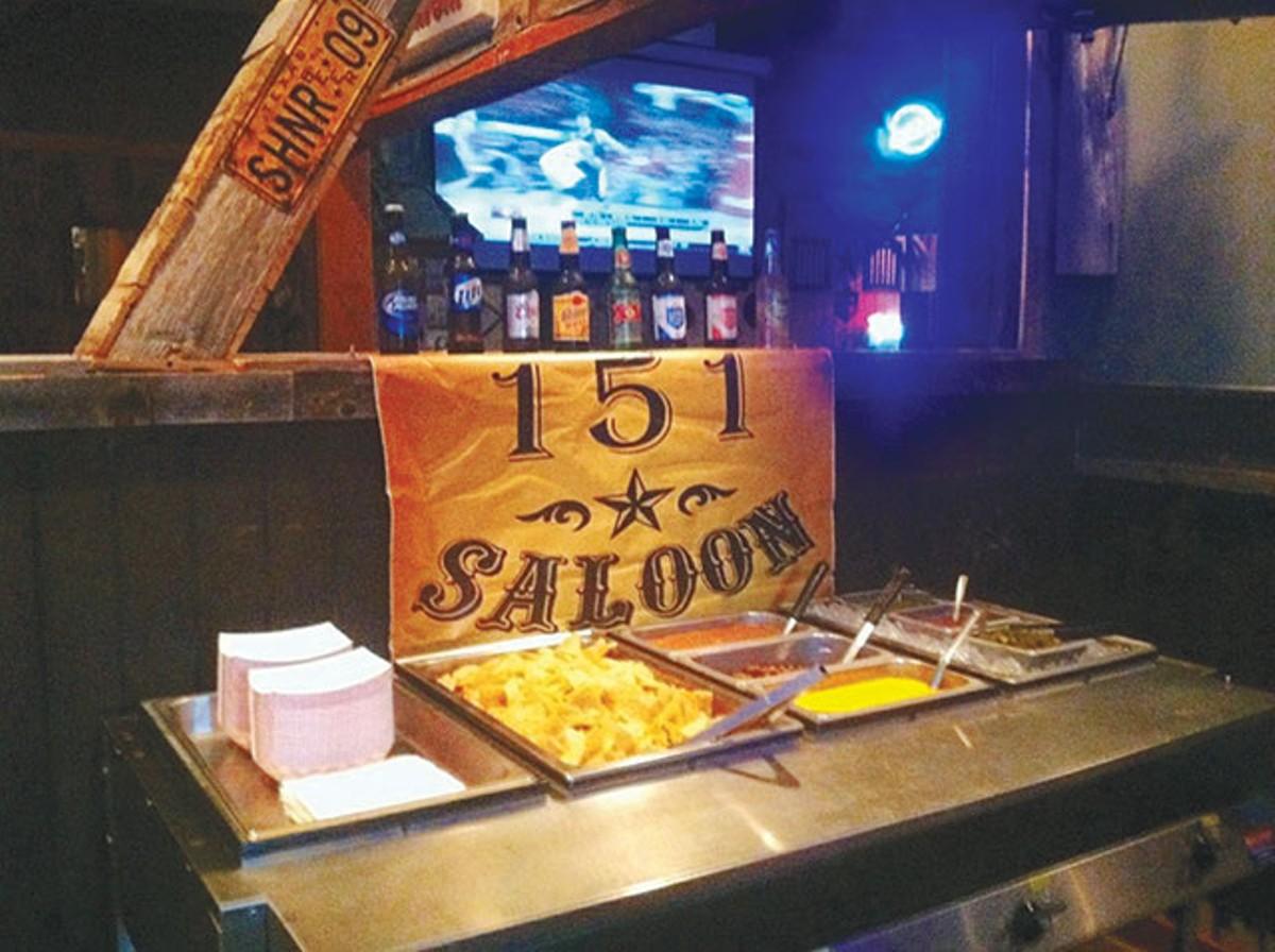 151 Saloon Boot Scootin Boozin And Bar Snacks Food