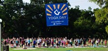 STACEY ANNE PHOTOGRAPHY - 350+ joined Yoga Day in The Park last year