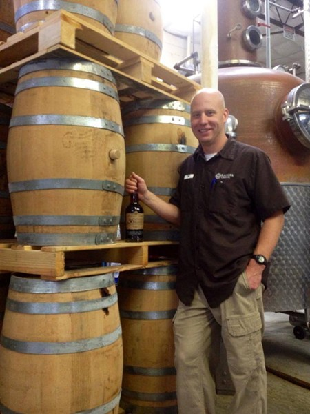 TJ Miller, of Ranger Creek, will show off his award-winning spirits - RANGER CREEK BREWING & DISTILLING/FACEBOOK