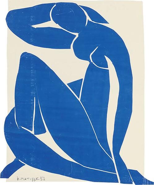 Henri Matisse, Blue Nude II (Nu bleu II) - COURTESY MOMA