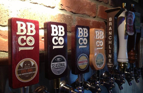 It's a tap takeover! - COURTESY