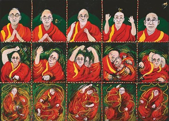 International artists on the Dalai Lama