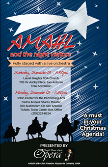 SOUTH TEXAS LYRIC OPERA - A Must in Your Christmas Agenda