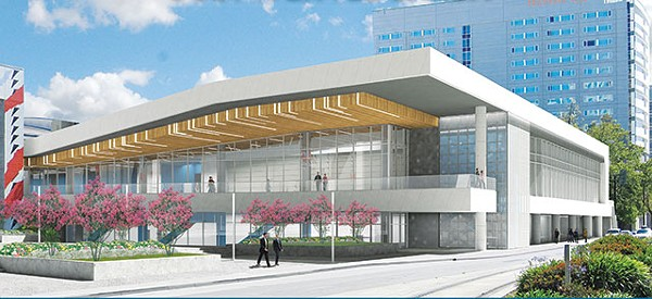 A rendering of just one of SA's many competitors, San Jose's newly expanded convention center by the sea, which the city has been promoting with free rental days and other giveaways - COURTESY