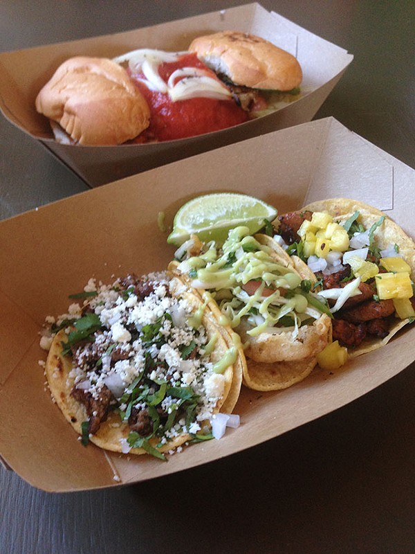 A taste of the dishes you'll find at Taps y Tapas - JESSICA ELIZARRARAS
