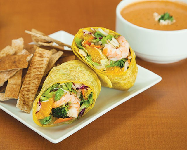 A taste of what you'll find at Salata - COURTESY PHOTO