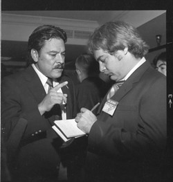 Willie Velásquez (left) - SVREP