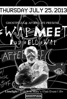After L1fe and Ghostpizza Collaborate for Funky Swap Meet