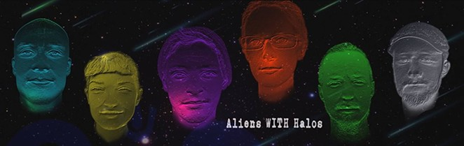 Aliens WITH Halos - COURTESY