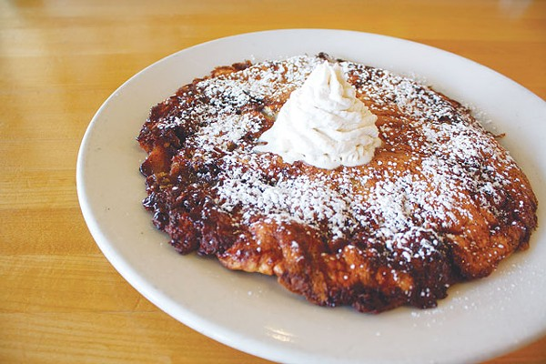 All hail Magnolia Pancake Haus' apple pfannkuchen. - VERONICA LUNA