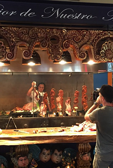 A little behind-the-scenes look at this weekend's Travel Channel shoot at El Machito
