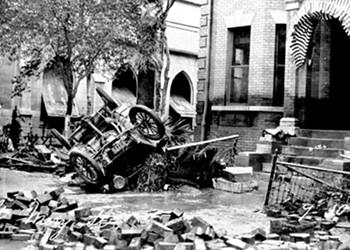 Anniversary of San Antonio's great flood of 1921 passes with little notice