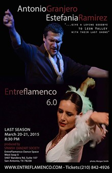 PHOTOS BY MORGAN SMITH - Antonio Granjero & Estefania Ramirez ENTREFLAMENCO 6.O