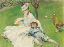 Auguste Renoir, Madame Monet and Her Son