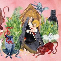 Cover for Father John Misty's I Love You, Honeybear - COURTESY
