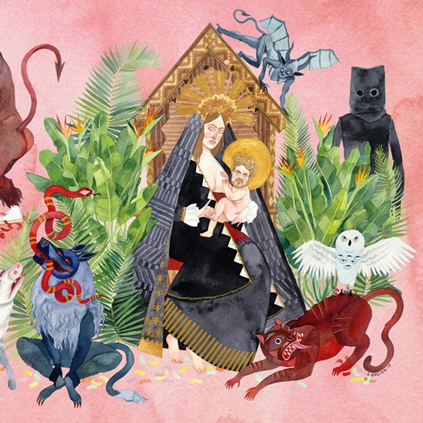 Cover for Father John Misty's I Love You, Honeybear - COURTESY