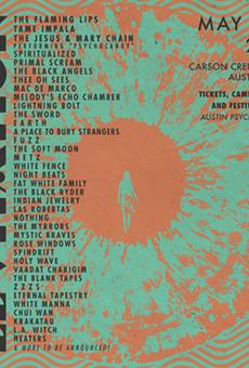 Austin Psych Fest Announces 2015 Lineup