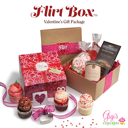 Order a Flirt Box from Gigi's - COURTESY OF GIGI'S CUPCAKES