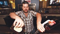 Beyond the outer loop, a country bar shoots for Saturday night every night