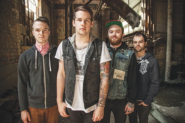 Beartooth's Caleb Shomo, center - COURTESY PHOTO