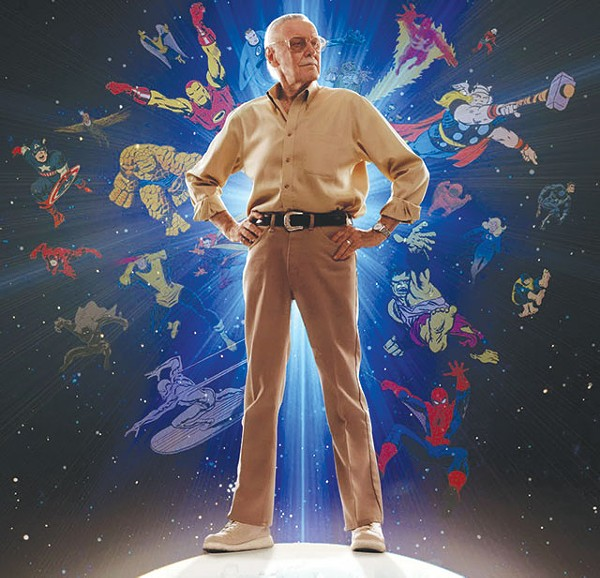 Behold: Stan Lee, the Holy Grail of comic con celebrity guests - COURTESY PHOTO